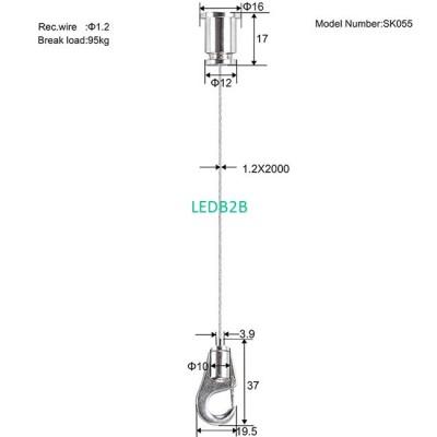 Hook suspension kit SK055