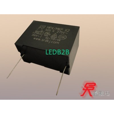 Safety capacitor X2-MPX