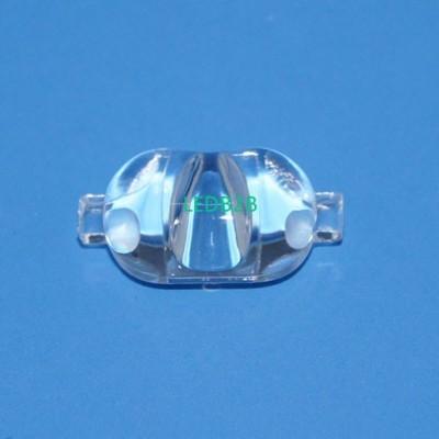 Street light lens single lens ser