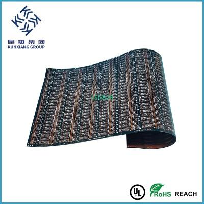 Black soldermask Flexible PCBs fo