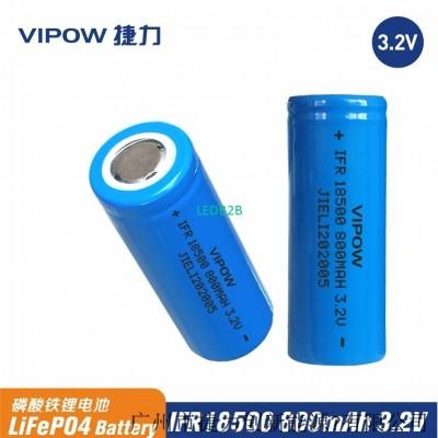 VIPOW 3.2V 18500 800mAh battery f