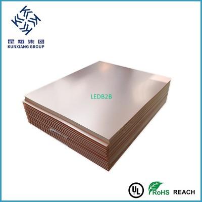 MCPCB Aluminium copper clad lamin
