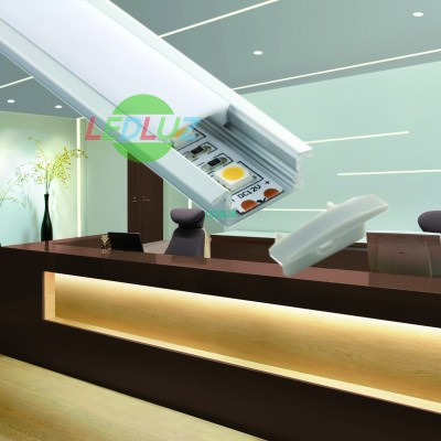 Anodized aluminium LED profile wi