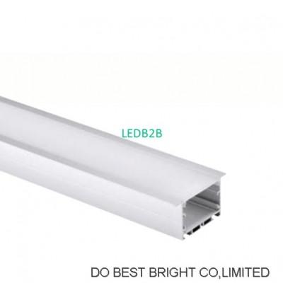 embedded aluminum linear profile