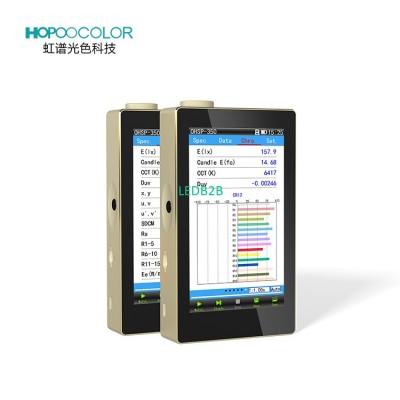 Portable Luxmeter test for LED LI
