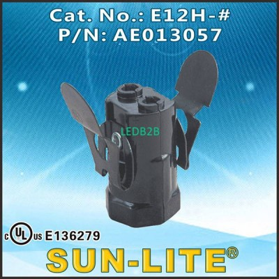 E12 PHENOLIC LAMPHOLDERS E12H