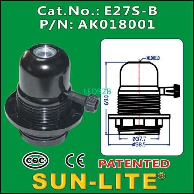 E27 TURN KNOB LAMPHOLDER E27S-B
