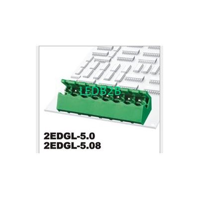 High positive plug terminal block