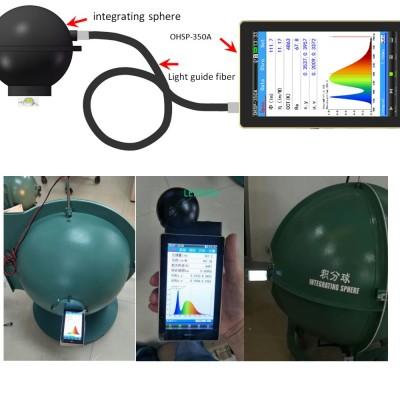 Portable Lumen and lux Spectrum A