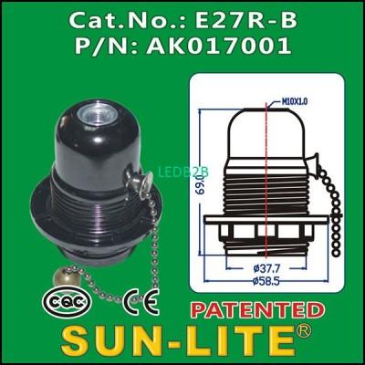 E27 PULL CHAIN LAMPHOLDER E27R-B