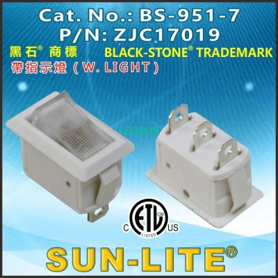 ROCKER SWITCHES BS-951-7