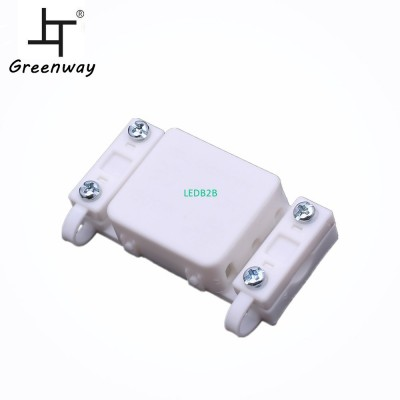 White IP20 electrical plastic ter