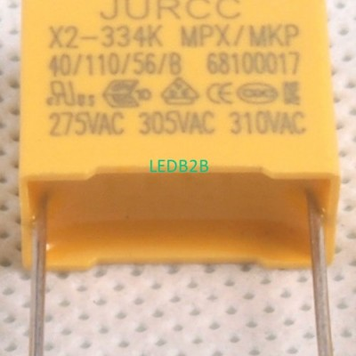 X2 Fixed capacitors for electroma