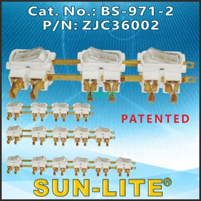 SWITCH KITS FOR RECEPTACLE COMPON