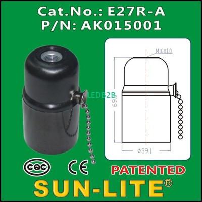 E27 PULL CHAIN LAMPHOLDER E27R-A