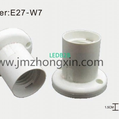E27-W7 Integrated base lampholder
