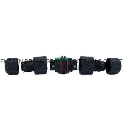 12v 2pin waterproof connector led