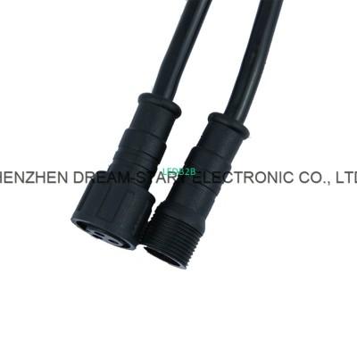 male socket M14 waterproof 2pin 3
