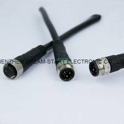 Cable Waterproof Connector With W
