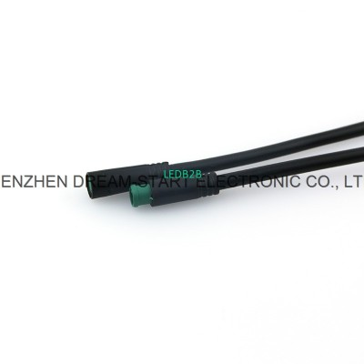 good price small black connector