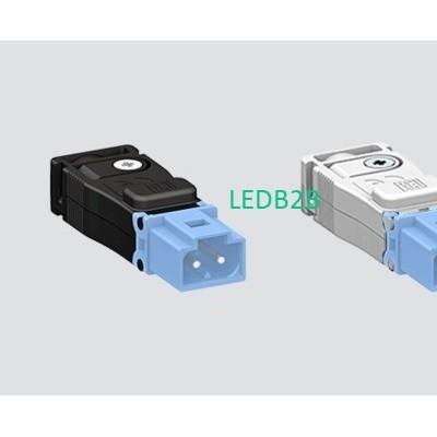 EPN0028 2A 60V 2P MALE BLUE(WHIT