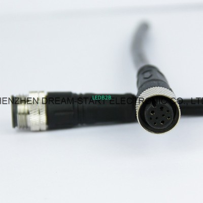 3 pin waterproof connector male f