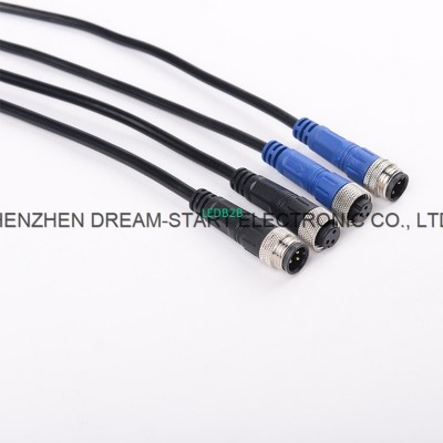 IP68 wire to wire 3 pin waterproo