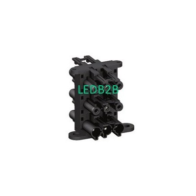 EPE014 20A 250V 1 IN 5 OUT 3P BLA