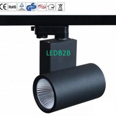 D66*165mm White LED Track Spotlig