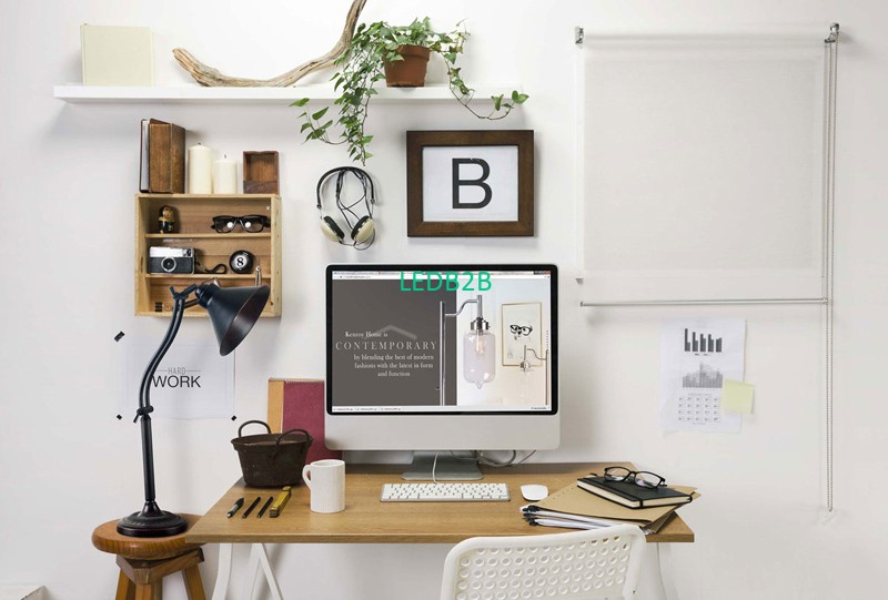 How to Light Your Home Office