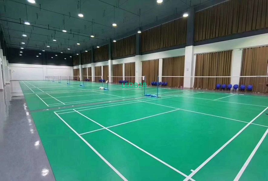 Portugal Volleyball Court LED Lighting Project with High Lumen UFO Fixtures