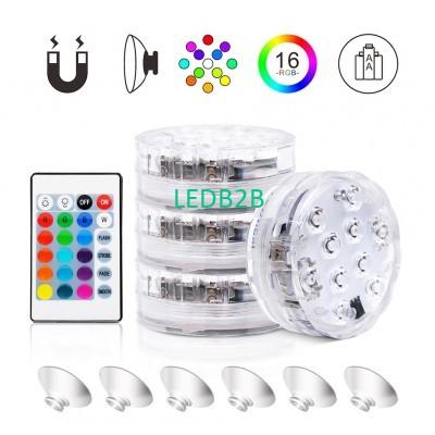 10 LED Waterproof Underwater Led