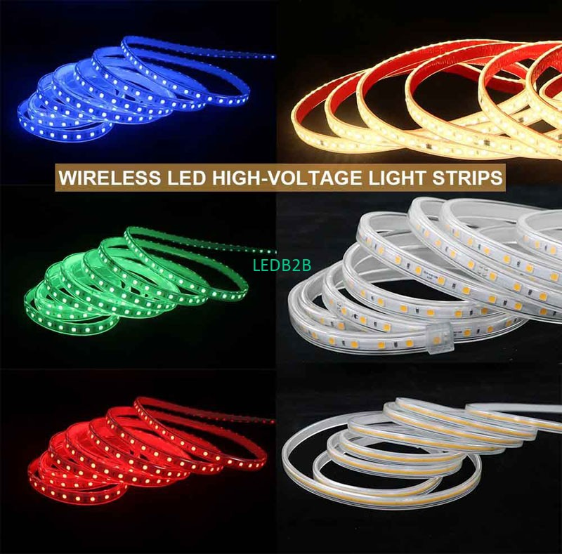 What Is The Difference Between LED High-voltage Light Strips